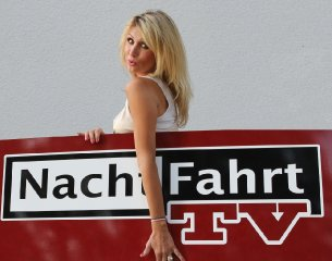 Natalie Langer moderiert Nachtfahrt TV