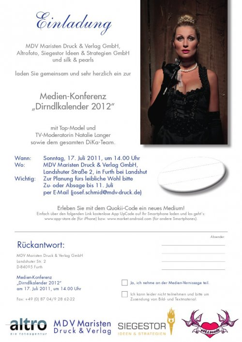 Einladung Medienkonferenz
