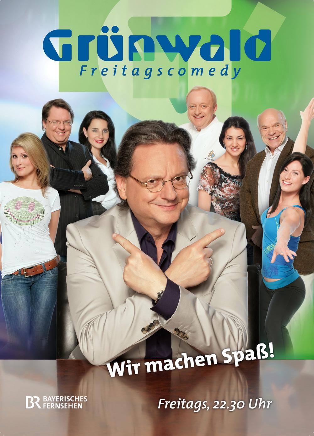 Poster Grünwald Freitagscomedy