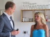Natalie Langer mit Immobilienmakler Alexander Posth